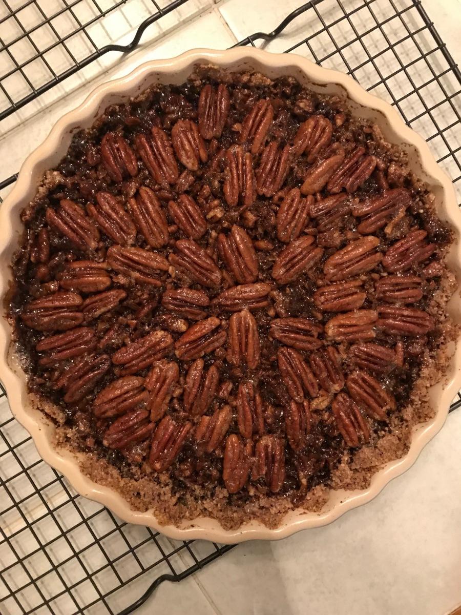 Vegan Gluten-Free Pecan Pie