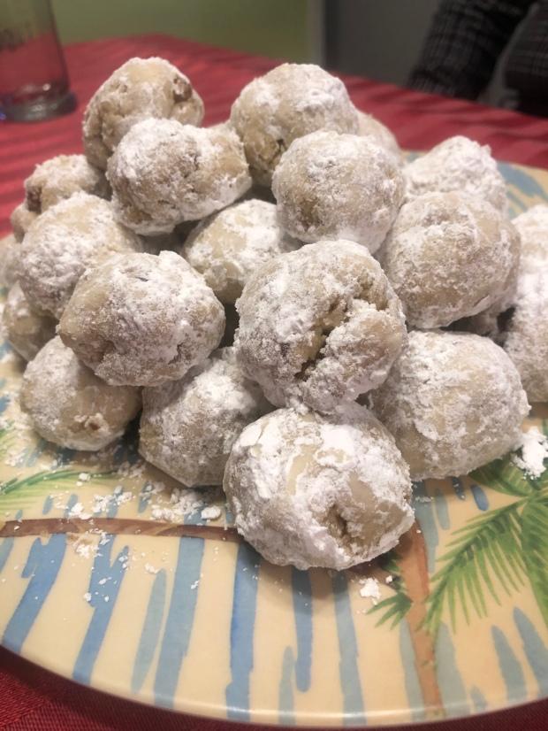 Gf Vegan Snowball Cookies Young Wild Gluten Dairy Free